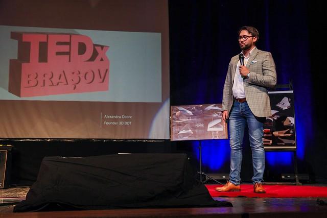 Alexandru Dobre discurs pentru imprimarea în 3D